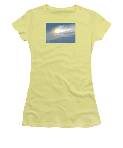 On High Women's T-Shirt (Junior Cut) by Barbara Middleton