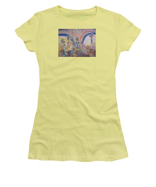 Persian Fairy Entrance Women's T-Shirt (Junior Cut) by Judith Desrosiers