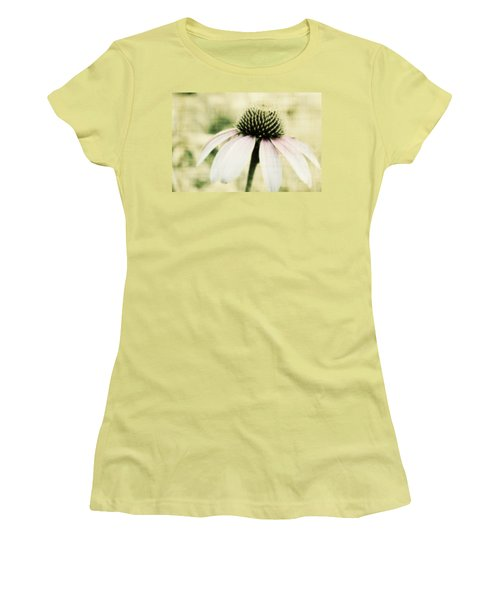 Pink Flower Women's T-Shirt (Athletic Fit)