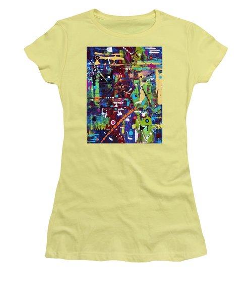 Plot For A Novel Women's T-Shirt (Athletic Fit)