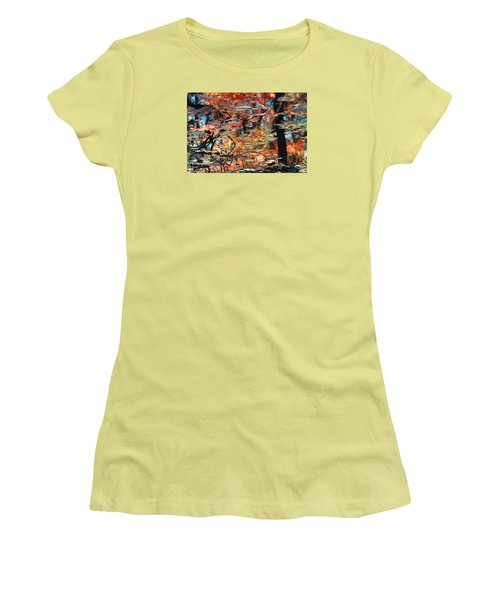 Reflection Women's T-Shirt (Junior Cut) by Barbara Middleton
