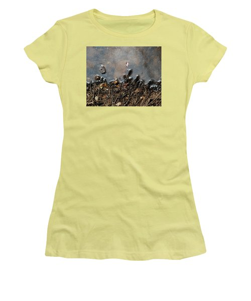 Roots In Water Women's T-Shirt (Junior Cut) by Kay Lovingood