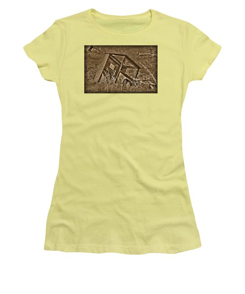 Rusting Away Women's T-Shirt (Athletic Fit)