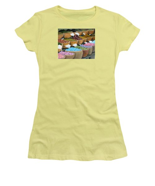 Scents For The Senses Women's T-Shirt (Junior Cut) by Laurie Morgan