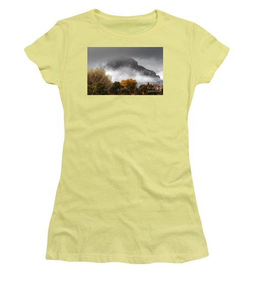 Sedona Fog Women's T-Shirt (Athletic Fit)