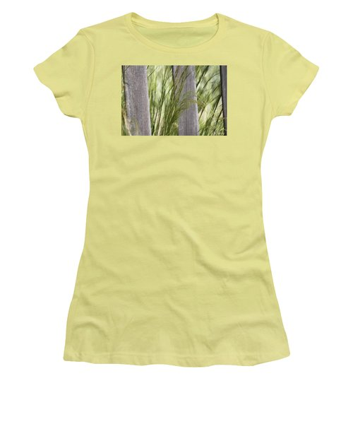 Spring Time In The Meadow Women's T-Shirt (Junior Cut) by Amy Gallagher