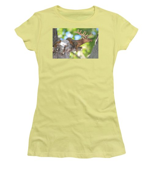 Squirrelk Women's T-Shirt (Athletic Fit)