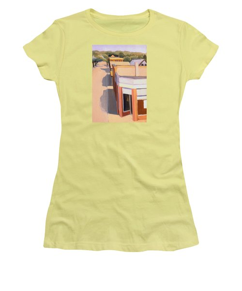 Stoneham Square Three 1979 Women's T-Shirt (Junior Cut) by Nancy Griswold