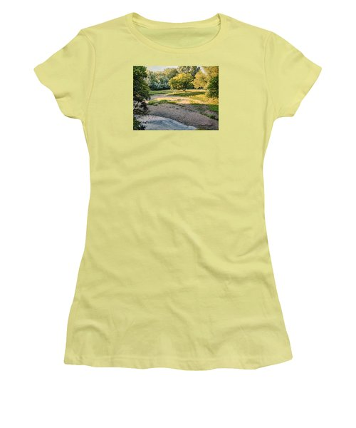 Summer Evening Along The Creek Women's T-Shirt (Athletic Fit)