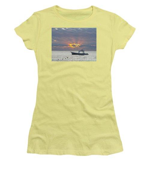 Sunrise - Puerto Morelos Women's T-Shirt (Athletic Fit)