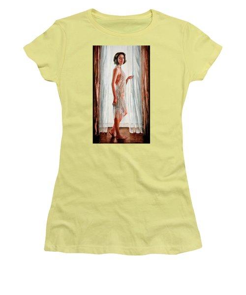 Survivor Self-portrait Women's T-Shirt (Athletic Fit)