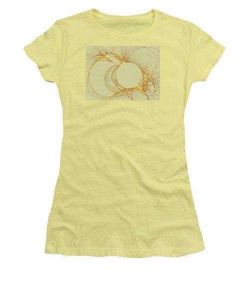 Women's T-Shirt (Junior Cut) featuring the digital art The Arcs by Kim Sy Ok