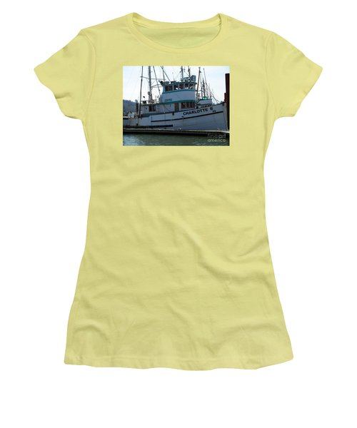 The Charlotte B Women's T-Shirt (Junior Cut) by Chalet Roome-Rigdon