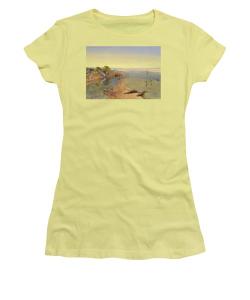 The Ganges Women's T-Shirt (Athletic Fit)