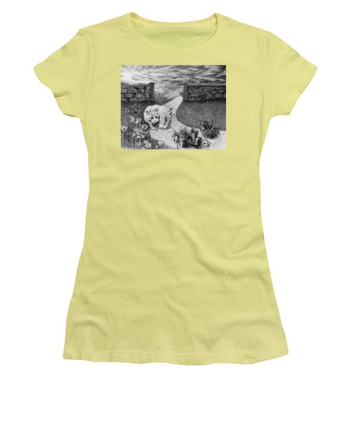 The Predator And The Prey Women's T-Shirt (Athletic Fit)