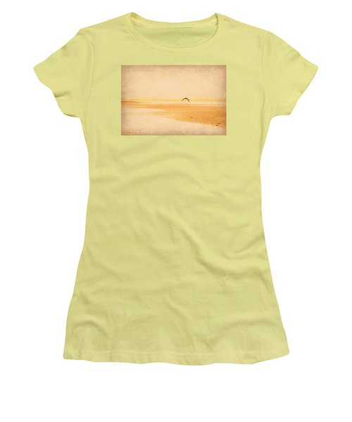 Women's T-Shirt (Junior Cut) featuring the photograph Tranquillity by Marilyn Wilson