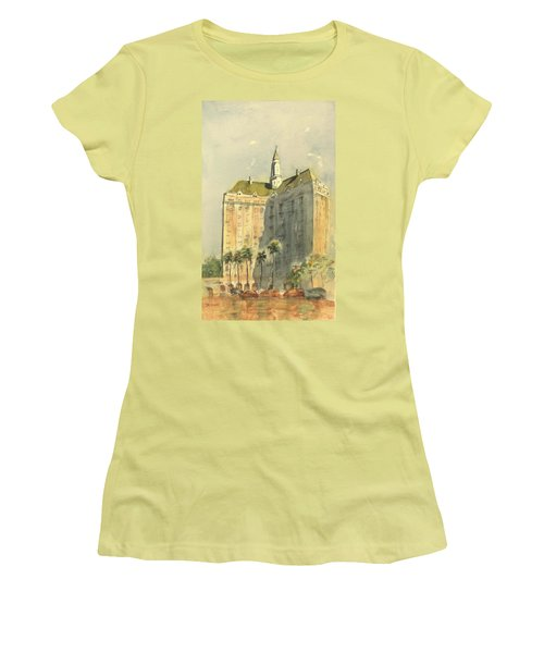 Villa Riviera Another View Women's T-Shirt (Athletic Fit)