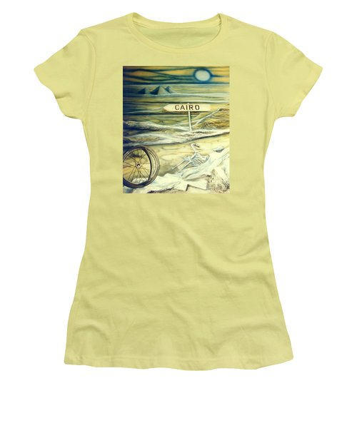 Way To Cairo Women's T-Shirt (Athletic Fit)