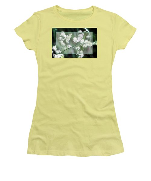 Women's T-Shirt (Junior Cut) featuring the photograph Weeds by EricaMaxine  Price
