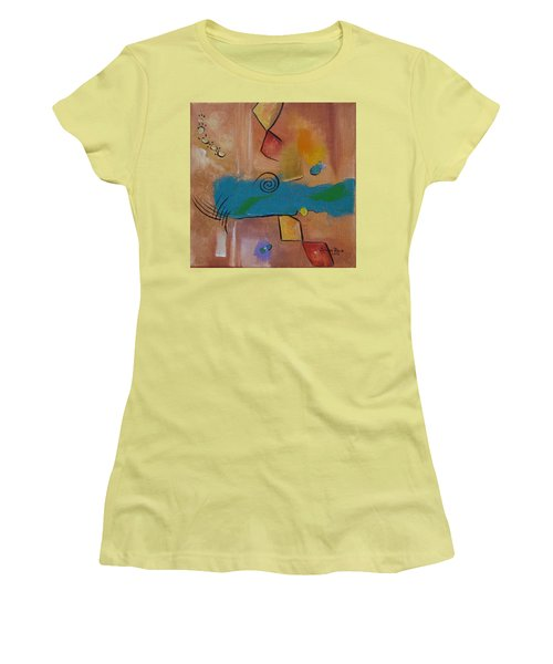 Wild Wild West Women's T-Shirt (Junior Cut) by Judith Rhue