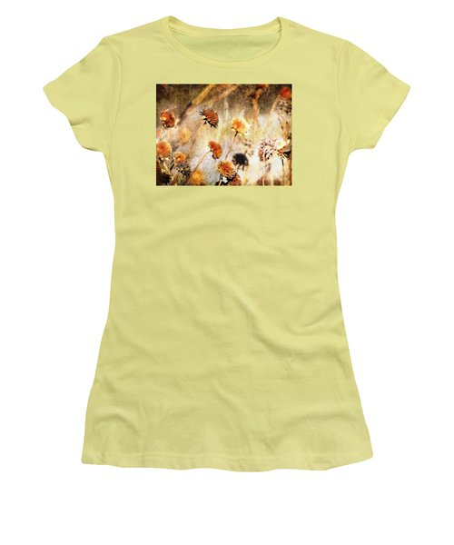 Yesterday's Flowers Women's T-Shirt (Athletic Fit)