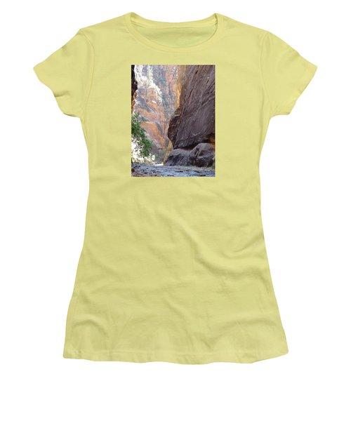 Zion Awe Women's T-Shirt (Junior Cut) by Elizabeth Sullivan