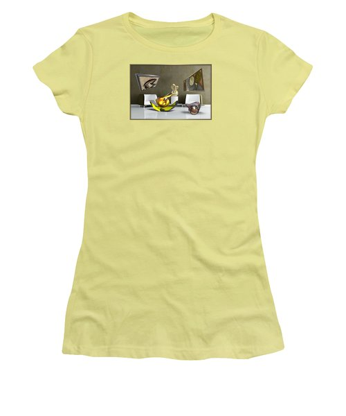 ' Cubrssrs - Tubehumanseedlings - Ball Box Intrigue - Kyscopic Table - Pearl ' Women's T-Shirt (Athletic Fit)