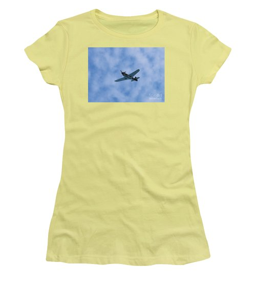 Fly Tiger 2 Women's T-Shirt (Athletic Fit)