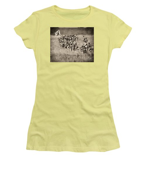 Gettysburg Confederate Infantry 9015s Women's T-Shirt (Athletic Fit)