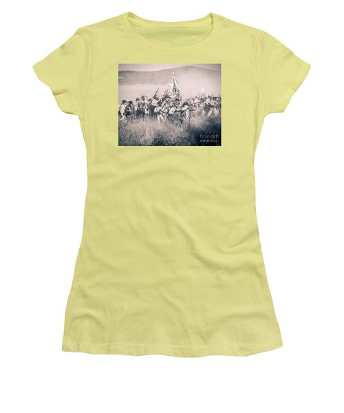 Gettysburg Confederate Infantry 9214s Women's T-Shirt (Athletic Fit)