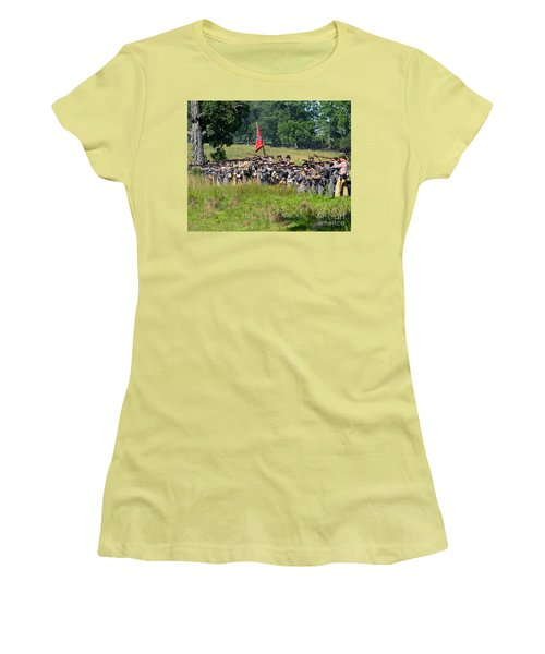 Gettysburg Confederate Infantry 9270c Women's T-Shirt (Athletic Fit)