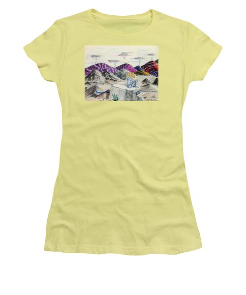 Lost Childhood Women's T-Shirt (Athletic Fit)