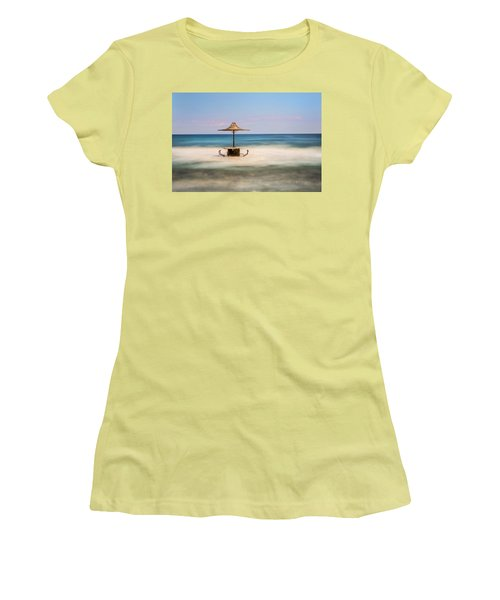 Seaside Bar Women's T-Shirt (Athletic Fit)
