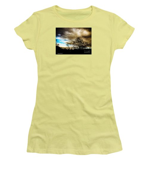 Storm  Coming  Women's T-Shirt (Junior Cut) by MaryLee Parker