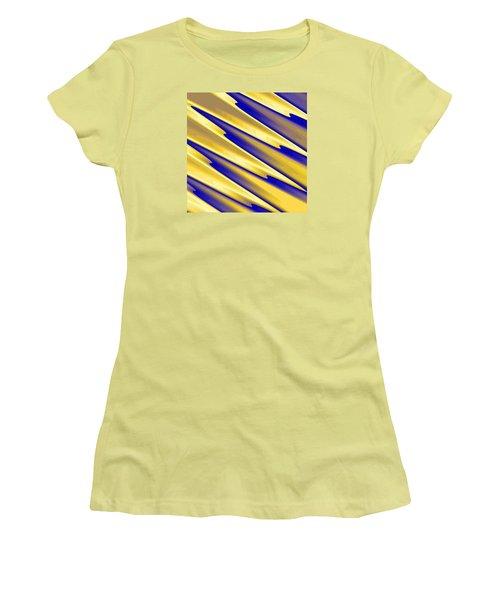 Women's T-Shirt (Junior Cut) featuring the digital art  The Enemies  by Dragica  Micki Fortuna