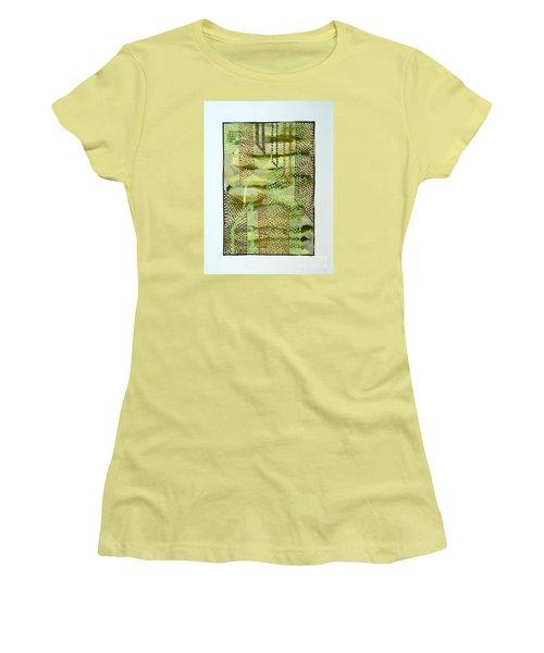01328 Slide Women's T-Shirt (Junior Cut) by AnneKarin Glass