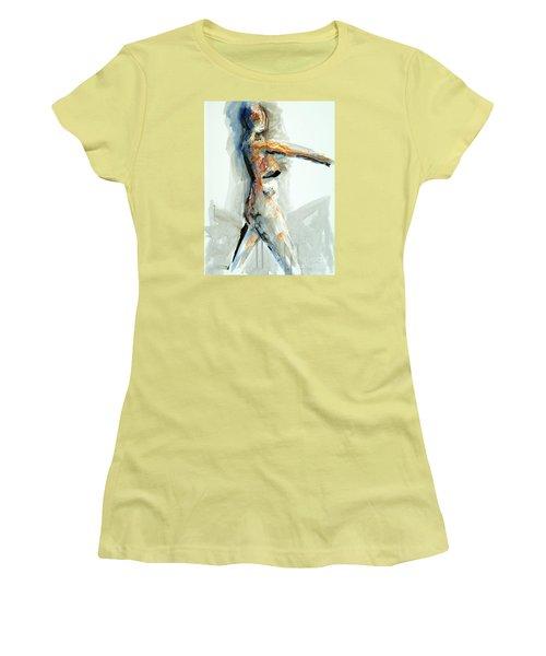 04951 Onward Women's T-Shirt (Junior Cut) by AnneKarin Glass