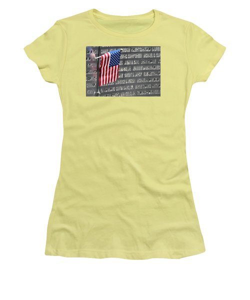 9 11 Memorial Rocky Point New York Women's T-Shirt (Junior Cut) by Bob Savage
