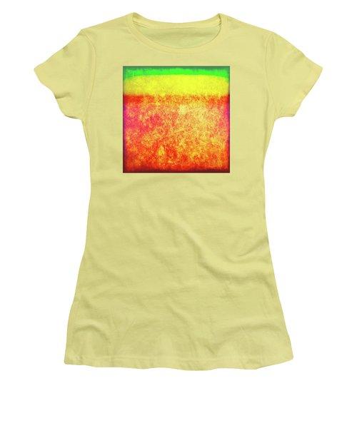 After Rothko 8 Women's T-Shirt (Junior Cut)