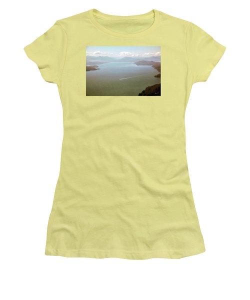 Women's T-Shirt (Junior Cut) featuring the photograph Alaska The Beautiful by Madeline Ellis
