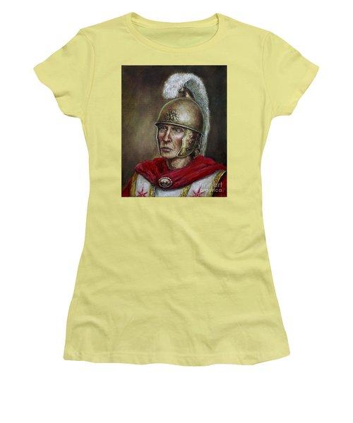 Alexander The Great Women's T-Shirt (Junior Cut) by Arturas Slapsys