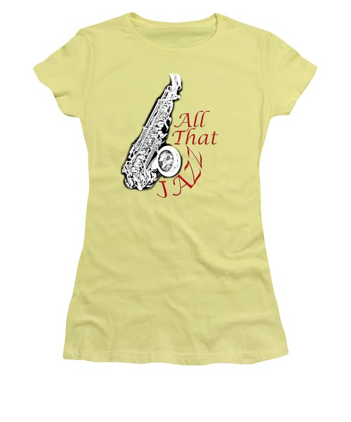 All That Jazz Women's T-Shirt (Athletic Fit)