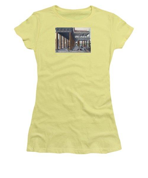 Architectural Caprice With Figures Women's T-Shirt (Junior Cut) by Hans Vredeman de Vries