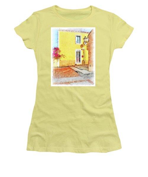 Arzachena Foreshortening Women's T-Shirt (Athletic Fit)