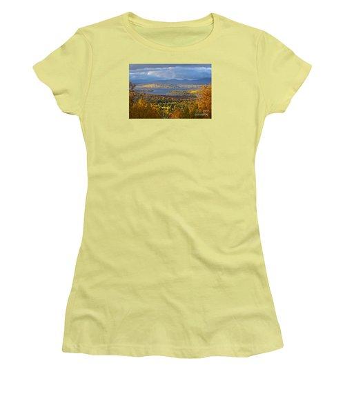 Autumn Splendor Women's T-Shirt (Junior Cut) by Alana Ranney