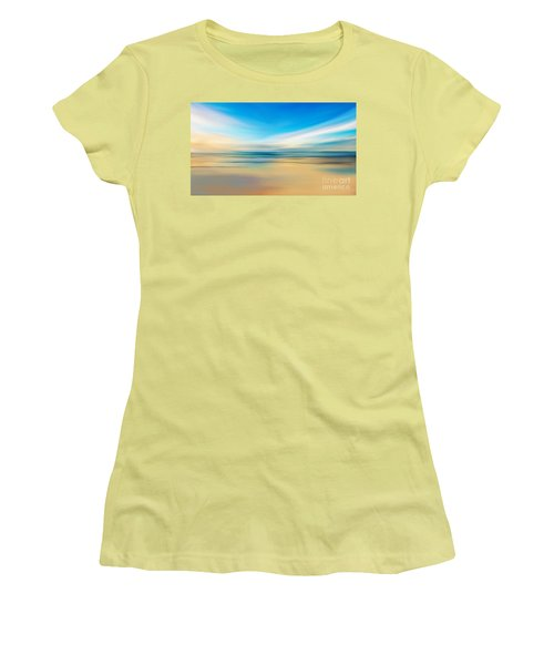 Beach Sunrise Women's T-Shirt (Athletic Fit)