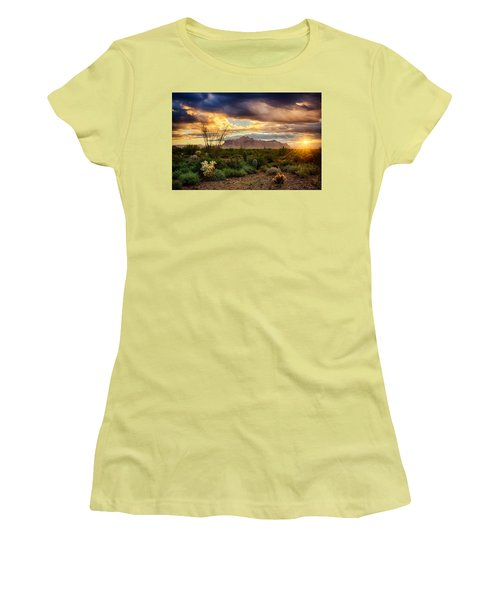 Beauty In The Desert Women's T-Shirt (Athletic Fit)