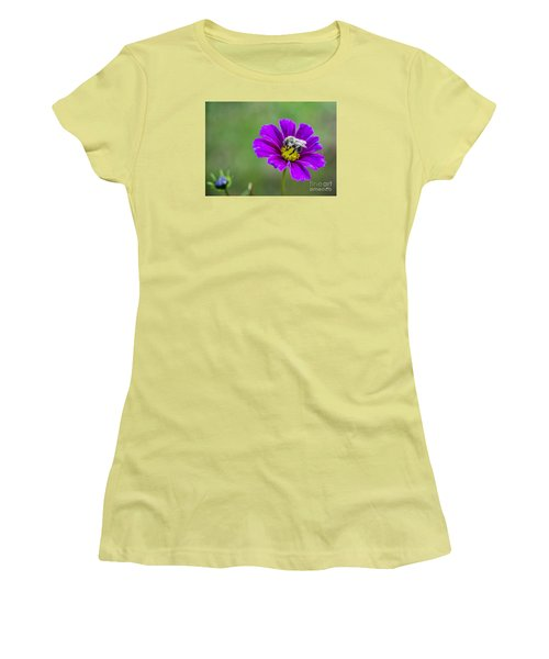 Women's T-Shirt (Junior Cut) featuring the photograph Bee by Alana Ranney