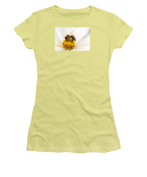 Women's T-Shirt (Junior Cut) featuring the photograph Bee Time by Sabine Edrissi