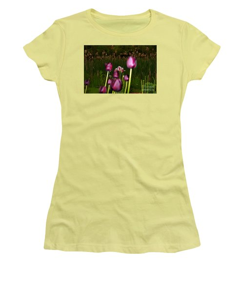 Behind The Scene Women's T-Shirt (Athletic Fit)
